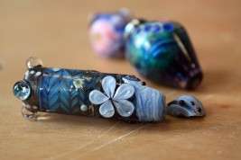 Glass bead collab test Flame Off Uttoxeter